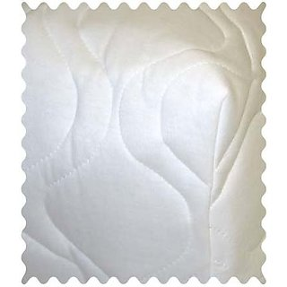 SheetWorld White Quilted Fabric - By The Yard