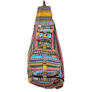 Bohemian Hippie Hemp Cotton Unique Sling Shoulder Backpack