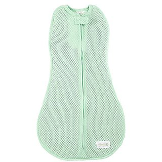 Woombie True Air Swaddle, Newborn 5-13 Lbs - Pistacio Green