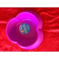 Pet Food Bowl Non Skid Dog Bowl Slip Resistant Pet Feeder Blue Food Or Water Bowl