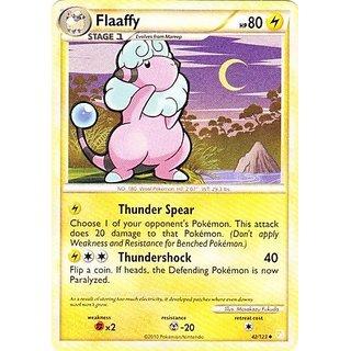 Pokemon - Flaaffy (42/123) - HeartGold SoulSilver