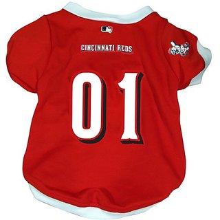 Hunter MFG Cincinnati Reds Dog Jersey, Small