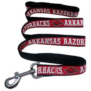 Pets First College Arkansas Razorbacks Pet Leash, Medium