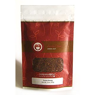 Mahamosa Sweet Cherry Rooibos Tea 2 oz - Rooibos Herbal Loose Leaf (Looseleaf) Tea Blend