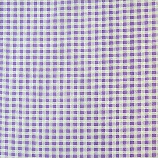 SheetWorld Fitted Square Playard Sheet 37.5 x 37.5 (Fits Joovy) - Lavender Gingham Check - Made In USA