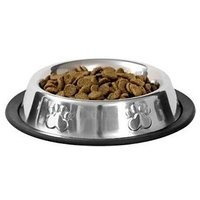 Dog Bowls, Food Bowl, For Small Pets, Metal, Stainless Steel, Non Skid, Dog, Puppy, Cat, Kitten, Rabbit, Feeder, Set Of