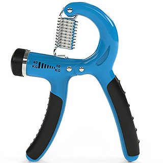 iMagitek Adjustable Hand Grip Strengthener, Resistance Range 22 to 88 Lbs Best Hand Exerciser Non-slip Gripper for Athle