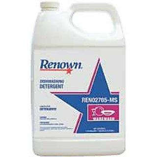 RENOWN GIDDS2-REN02765-MS Dishwashing Detergent (4 Per Case), 1 gallon