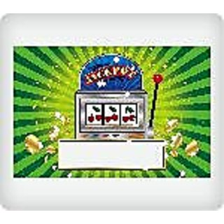 Whimsical Practicality Slot Machine Edible Icing Image, 1/4 Sheet