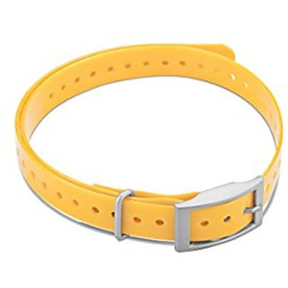 Garmin 010-11870-04 3/4-Inch Collar Strap Square Buckle for Delta Series Dog Device, Yellow