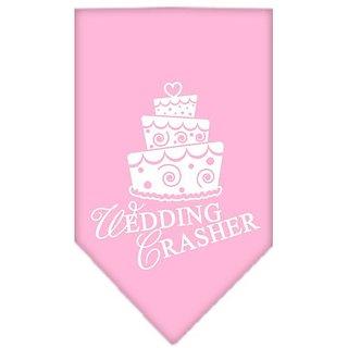 Mirage Pet Products Wedding Crasher Screen Print Bandana, Small, Light Pink