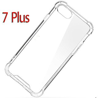 iPhone 7P Case Clear Hard Cover Advanced Shock Absorbent Scratch-resistant AIR CUSHION 7 Plus Cover Case Crystal Clear P