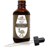 Australian Refined Premium Emu Oil 4 Oz - 100% Pure Organic Premium Essential Oil By Tropical Holistic - Multipurpose Be