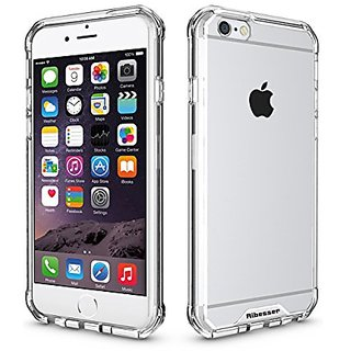 iPhone 6/6S Case, Aibesser Protection Case Clear Back Panel TPU Bumber Cover Cases for iPhone 6 & iPhone 6S (Crystal)