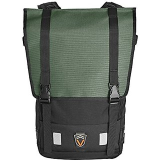 Velo Transit Mens Gear Urbanito 25 Waterproof Backpack, Olive/Black, Large