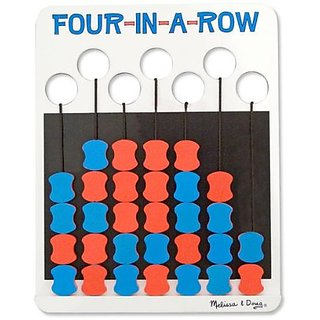 Melissa & Doug Travel Four-in-a-Row