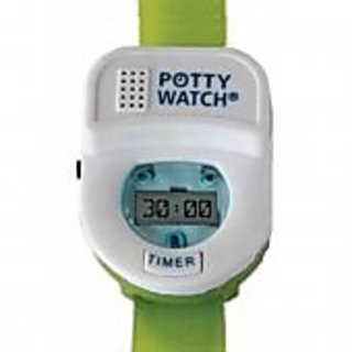 Potty Time Potty Watch Potty Training Timer (Assorted Colors) (Green)