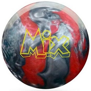 Storm Mix Urethane Bowling Ball, Red/Silver, 14-Pound
