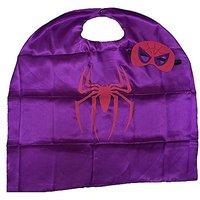 Starkma Kids Girl And Boy Spidergirl Superhero Cape + Mask Costume B06
