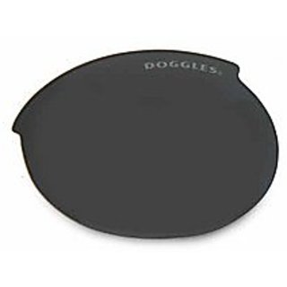 Doggles ILS Smoke with Flash Mirror Replacement Lens, Small