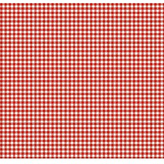 SheetWorld Fitted Pack N Play Sheet - Primary Red Gingham Woven - Made In USA