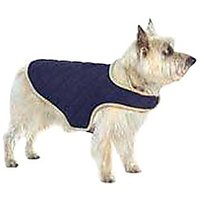 Dog Gone Smart Quilted Jacket, Navy, X-Small
