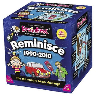 BrainBox for Kids - Reminisce Card Game