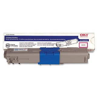 Oki Data Type C17 C330/530/MC361/MC561 Toner Cartridge (Magenta) - 44469702