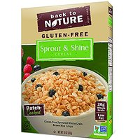 Back To Nature Cereal, Sprout And Shine, 10 Ounce