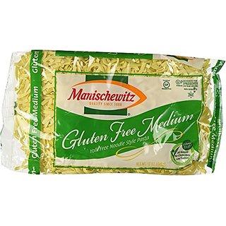 Manischewitz Noodle, Yolk Free, Medium, Passover, 12-Ounce (Pack of 4)
