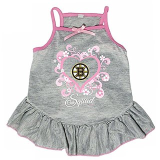 Hunter 4235-20-1100 HNL Boston Bruins Too Cute Pet Dress, X-Small