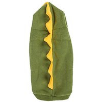 Uxcell Winter Dinosaur Shape Hoodie Pet Apparel Coat, X-Small, Olive/Green