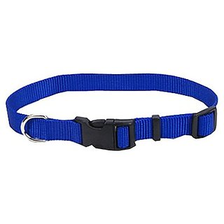 Coastal Pet 06401 A BLU14 Adjustable Dog Collar, 5/8-Inch, Blue