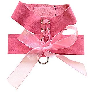 Parisian Corset Harness by The Dog Squad Pink, S 12-14in