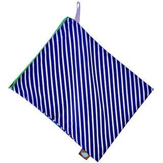 Jaq Jaq Bird Perfect Wet Bag, Navy Stripe
