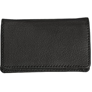 Canyon Outback Cross Canyon Business Card Case-Black, Black