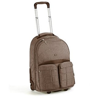 Lug Porter Roller Bag, Chocolate Brown, One Size