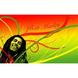 Bob Marley Reggae Edible Image Cake Topper Frosting Sheet