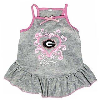 Hunter 4238-41-5100 NCAA Georgia University Too Cute Pet Dress, Large