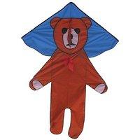 "Kites N More, 1 Big Teddy Bear Kids Kite 53"" Wide & 70"" Tall, With Kite Bag, Handle & 300 Ft Kite Line (1 Kite)"