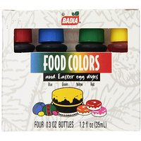 Badia Food Colors, 1.2 Ounce (Pack Of 12)