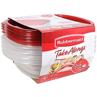 Rubbermaid Takealong 4 Piece Sandwich Storage Set, 4 pk