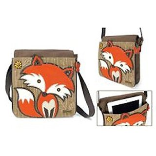 Deluxe Messenger Bag - Fox