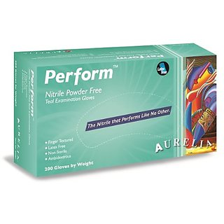 Aurelia Perform Nitrile Glove, Powder Free, 9.5