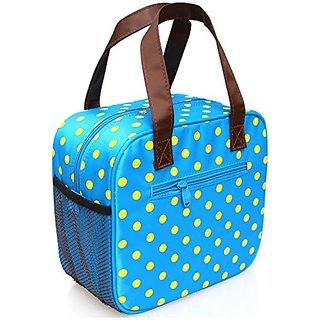 Lunch Tote Insulated Picnic Cooler Bag (Azure)