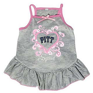 Hunter 4238-43-2900 NCAA Pittsburgh University Too Cute Pet Dress, Large