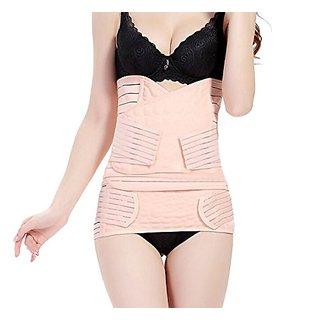 37c2450eecf ieasysexy HOT Sale Breathable 3 in 1 Adjustable Post-pregnancy Abdominal  Binder Postpartum Postnatal Support Girdle Reco