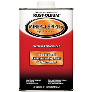Rust-Oleum Automotive 253351 32-Ounce Low Voc Mineral Spirits Quart - 4 Pack