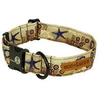 Dublin Dog Co Eco Lucks Hampton Dog Collar, Shellscape, 15 By 24-Inch, Large