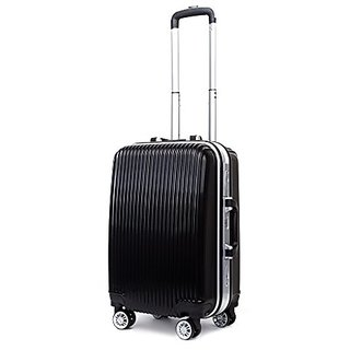 BAIGIO Carry On Luggage Spinner Suitcases Rolling Travel Wheeled Duffle Bag 20